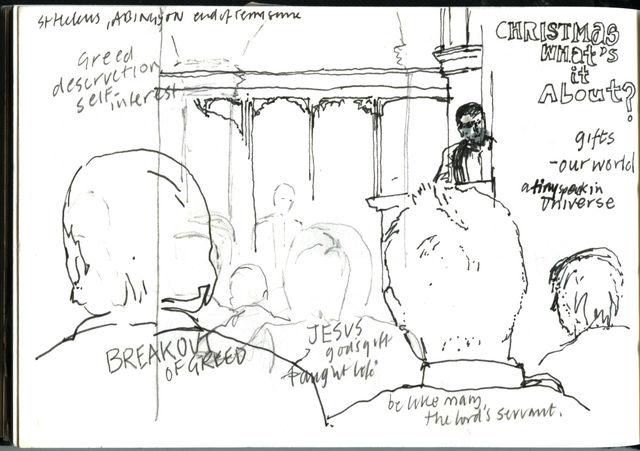 sermon drawing